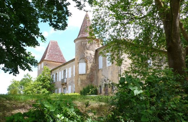 Home of the real D'Artagnan, Charles de Batz-Castelmore, near Lupiac