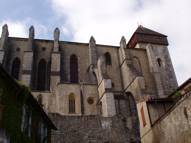 St Bertrand-de-Comminges - the impressive Romanesque/Gothic Cathedral of Ste Marie